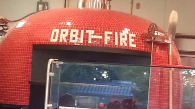 Orbit Fire pizza