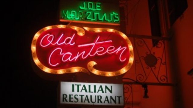 Old Canteen italian restaurant